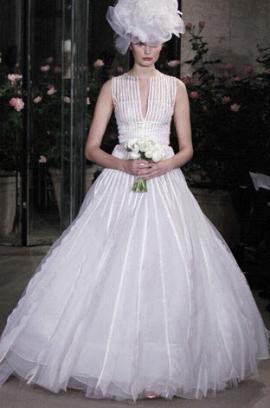 Oscar de la Renta Wedding Dress Style 12E02