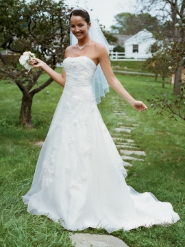 David's Bridal Collection Wedding Dress Style WG9859 :  wedding dresses formal clothes wedding gowns fashion clothing