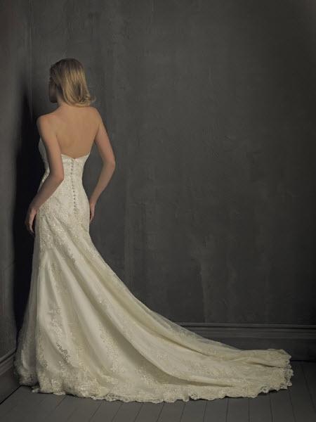 Плаття з оригінальним шлейфом, що підщіпається за сукню.