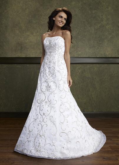 Emerald Bridal: 9184 wedding dress