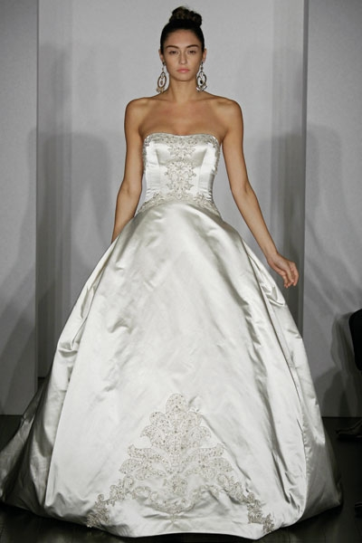 Wedding Gown Styles on Kenneth Pool Wedding Dress Style Extravagant