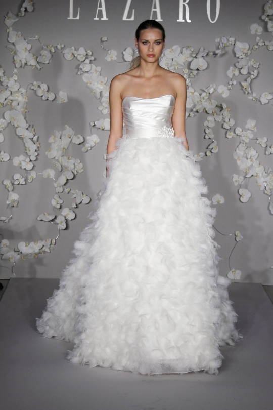 Lazaro LZ3013 wedding dress