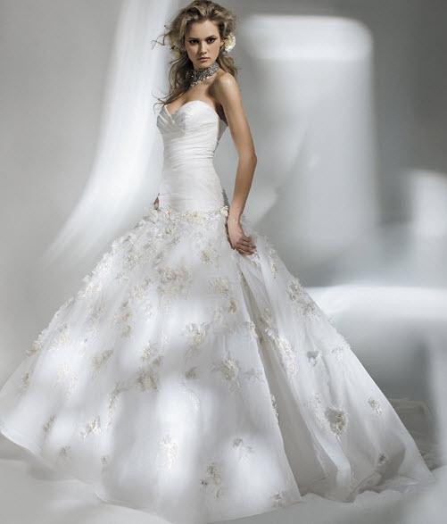 Abiti da sposa stile principessa di amalia carrara - Moda nozze ...