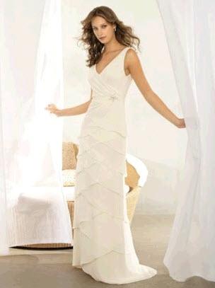 Alfred Sung - Белое свадебное платье модель 1004.