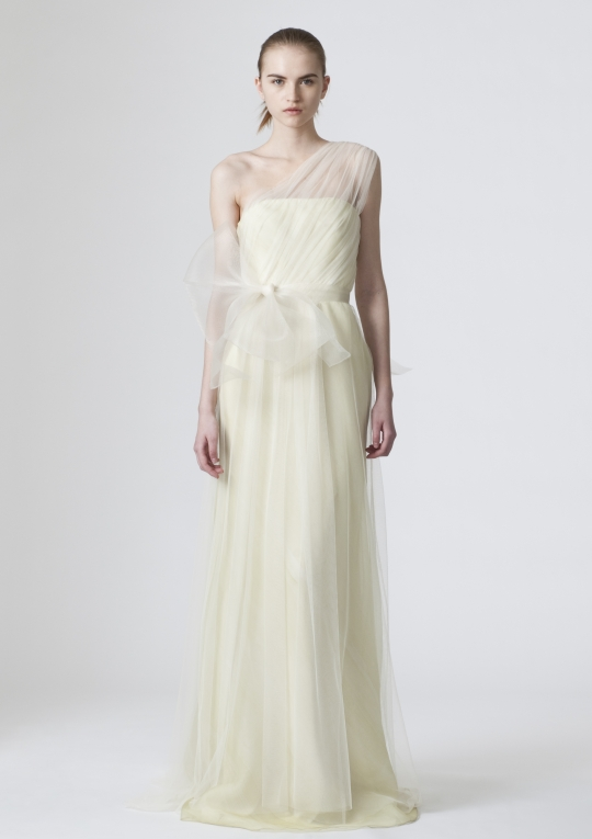 Vera Wang Wedding Dress Style Spring 2010 Look 2