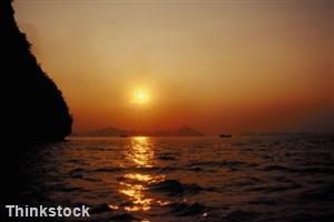 Vietnam sunset