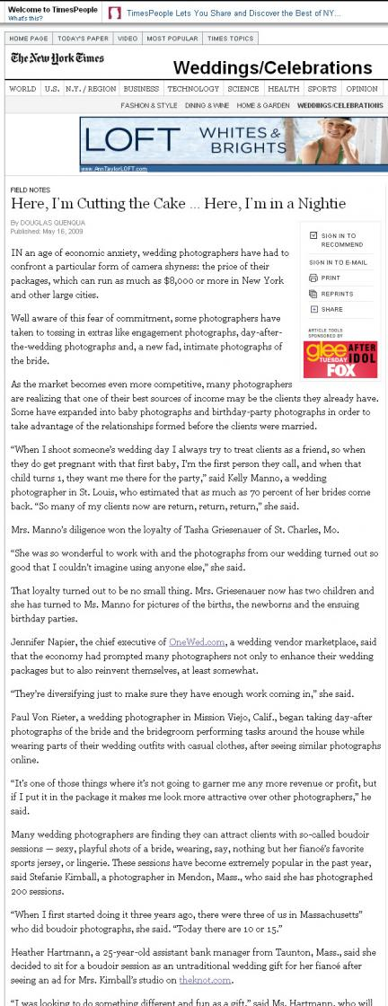 Wedding Photography Trends New York Times