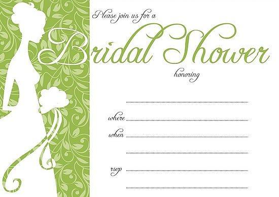 Free Wedding Shower Invitations: Free Bridal Shower Invitations