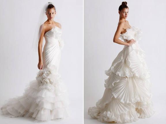 Marchesa Wedding Gowns 2011. Photo: 2011 Marchesa wedding