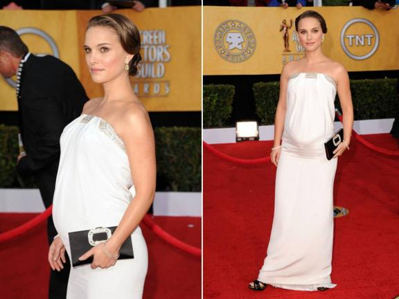Photo: Natalie Portman at 2011 SAG awards, via The Fashion Dealer