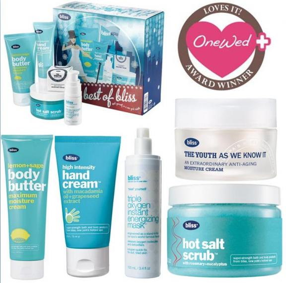 Savvy Steals Weekly Giveaway- Best of Bliss Spa Gift Set | OneWed.com