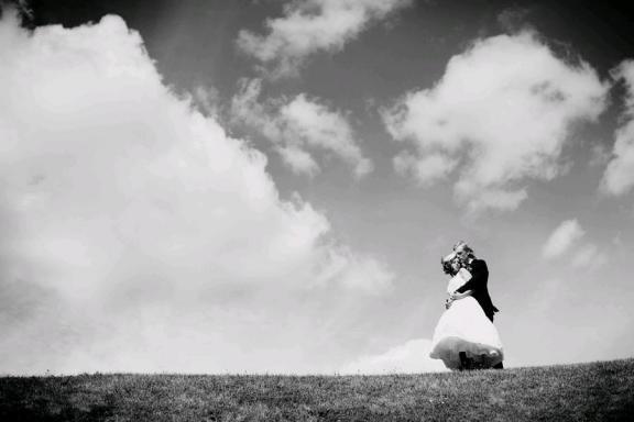 White Wedding Backdrop. Bride Chic: A Castle Wedding