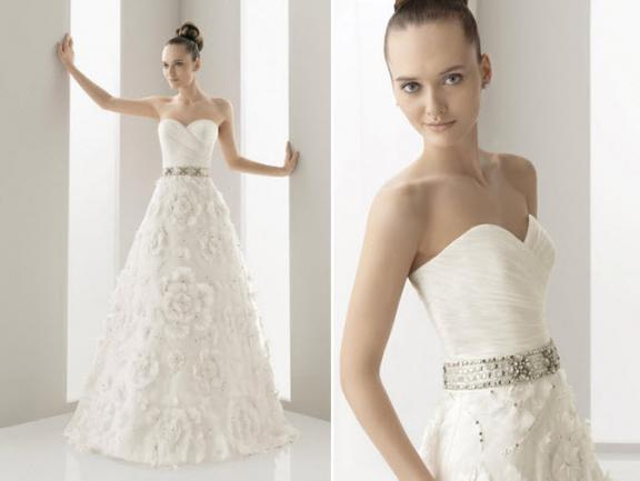 Spring 2011 Wedding Dress One of the biggest trends is the