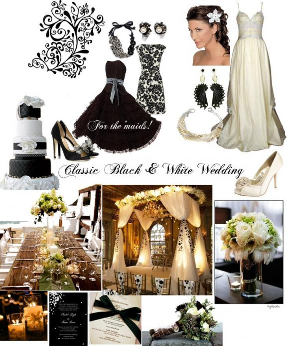 This classic, chic wedding theme was inspired by my best friend.