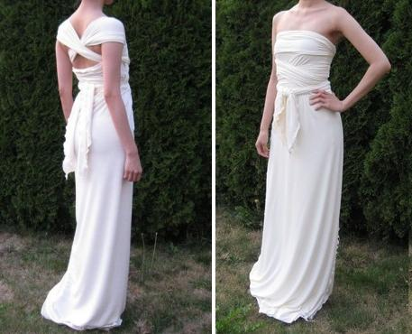 Recycled Bride: Eco-Chic Destination Wedding Dresses | OneWed.com
