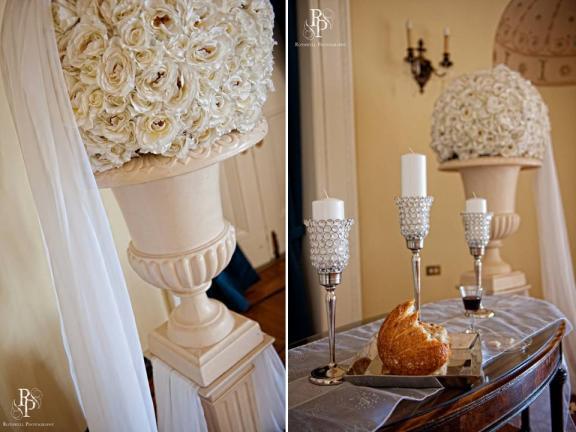 Зимняя свадьба в Огайо: элегантный декор, изысканное место проведения