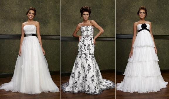 Photo: Elizabeth Fillmore Bridal- 2010 wedding dresses