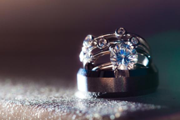 Featured Wedding Engagement Ring Bling and Shoe Shots Galore Photo Ted