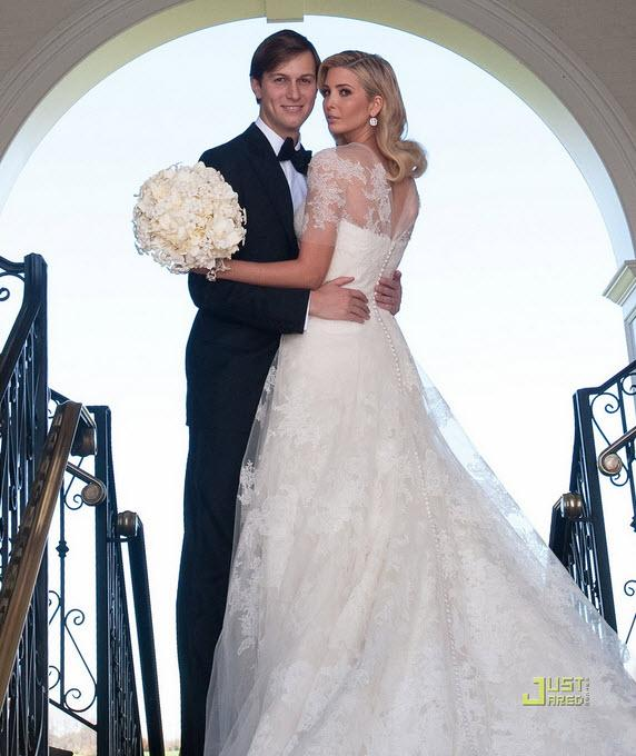 ivanka trump wedding dress. Photo: Ivanka Trump wedding-