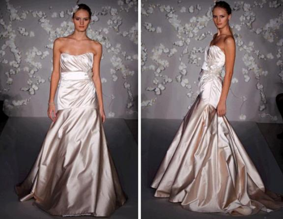 Spring 2010 Bridal Runway: Jim Hjelm Wedding Dresses | OneWed.com :  jim hjelm sweetheart neckline planning beading