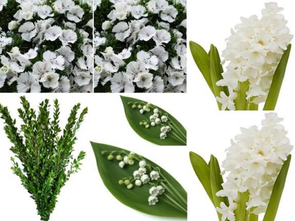 Royal Wedding Flower Combo Box