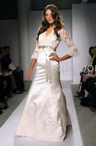 lace wedding dress with sleeves. Rarely do you find long sleeve