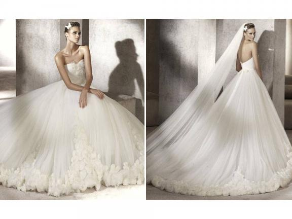 wedding Prestigio Wedding Dress 2012 Bridal Gowns Romantic Strapless