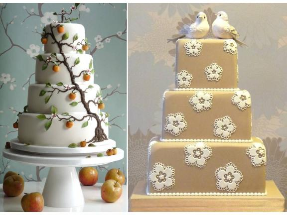 Beautiful White Wedding Cakes and Beautiful Design Ideas