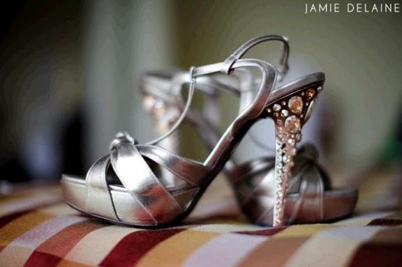 Sex And The City 2, We Honor You... With Rockin' Designer Bridal Shoe Shots! :  stuart weitzman manolo blahniks bridal shoes shoes