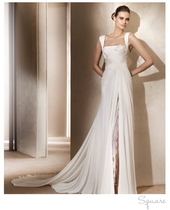 Felicias blog the trick to creating the illusion of height is if you have a petite or small body figure then empire wedding dresses must junglespirit Images