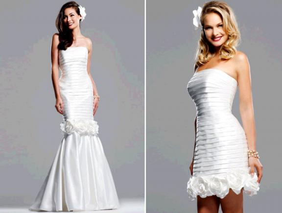 White Party Dresses 2011