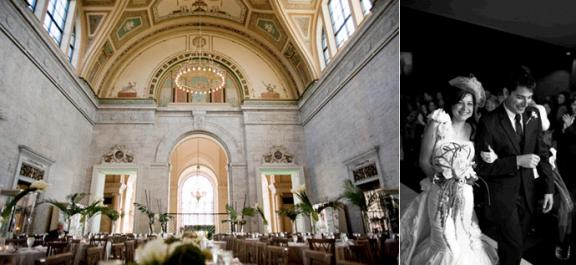 Find this pin and more on weddingvenues in metropolitan detroit the ont inside of museum wedding venue bride and groom after saying i do junglespirit Image collections