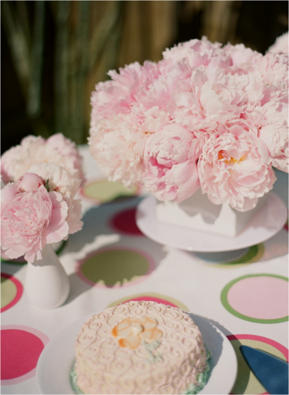 Peony Table Styled by: Janie Medley  Photo by: Katie Stoops Photography