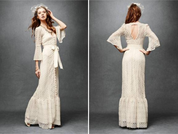 vintage wedding dress with sleeves. vintage wedding dress with