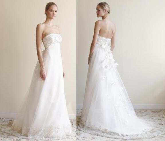 From the perspective of style there are tulle wedding gowns of various