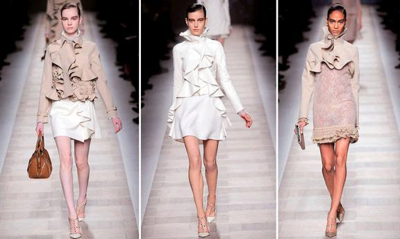 Haute Couture Ruffles On The Runway See Kate Sew