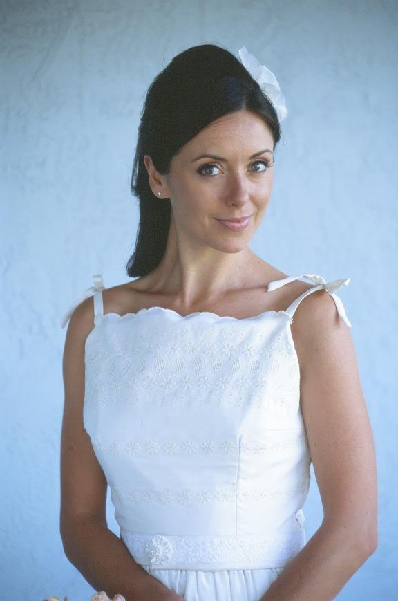 Collette Dinnigan Wedding Dress. Photo: Colette Dinnigan Cluny