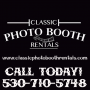 Photographers in Auburn, CA: Classic Photo Booth Rentals