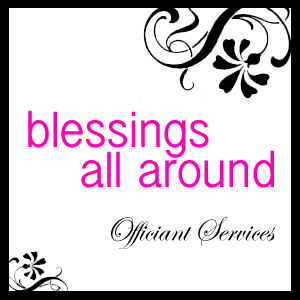 Portfolio image for Blessings All Around (Mobile Officiant)