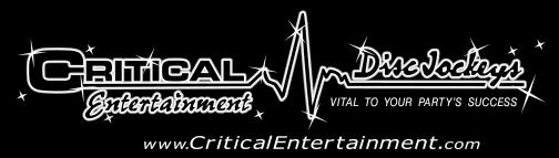Portfolio image for Critical Entertainment Disc Jockeys