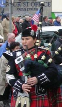 Portfolio image for Amy McGlothlin, Bagpiper