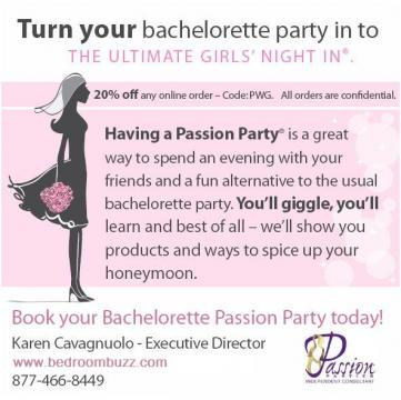 Portfolio image for Passion Parties by Bedroombuzz.com