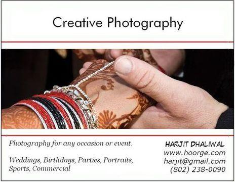 Portfolio image for Harjit Dhaliwal Photography
