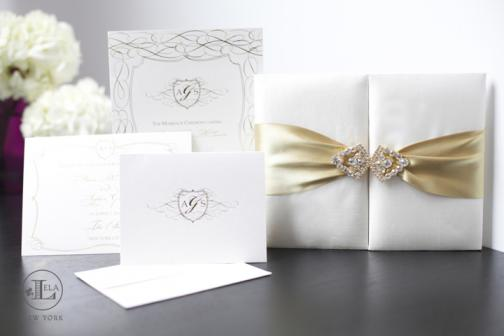 Portfolio image for Lela New York - couture wedding invitations and stationery