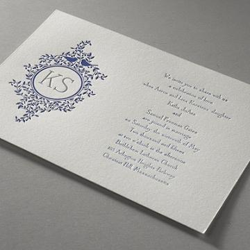 bed bath & beyond wedding invitations & accessores on onewed, Wedding invitations