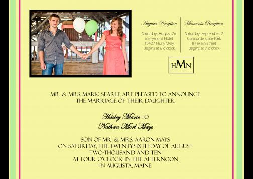 Portfolio image for Special Day Invitations