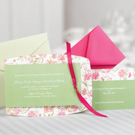 Jean M Wedding Invitations and Accessories on OneWed