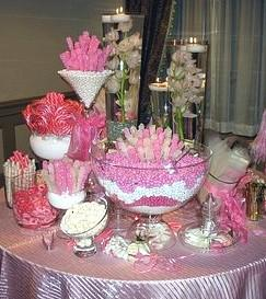 Portfolio image for Customcandybuffetbars.com ~ Wedding Candy Buffets