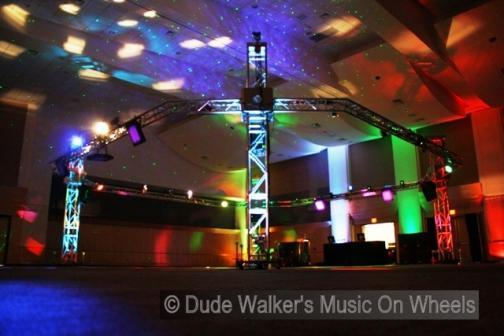 Portfolio image for dudewalker.org - Music On Wheels Wedding DJ's