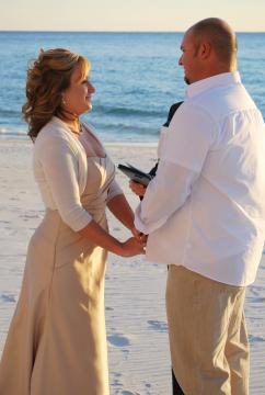 Portfolio image for Florida Nuptials - Panama City Beach Officiants and Destin Wedding Officiants